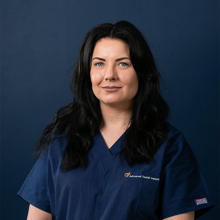 Portrait of Samantha, Lead Dental Nurse