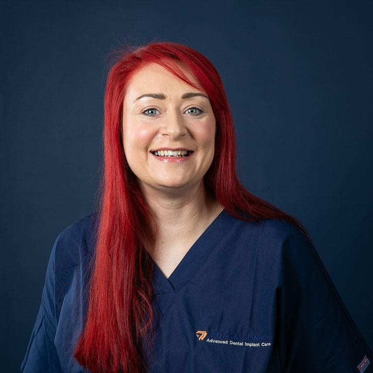 Portrait of Sinead, Dental Surgery Assistant